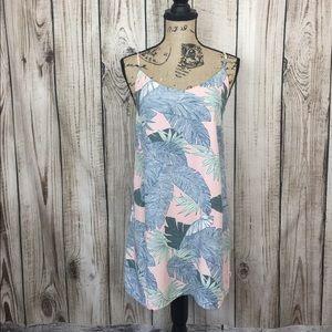 🍄3/$18🍄VANS Pink Floral Spaghetti Strap Dress XS